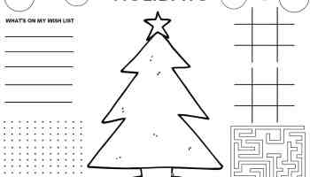 2020 Traditional Christmas Coloring Pages For Kids