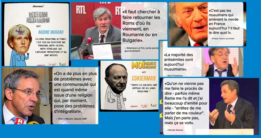 NommésY'a Bons Awards 2015 - Nommés : Morano, Le Foll, Tesson, Mariani, Cukierman, Sarkozy, Finkielkrau.