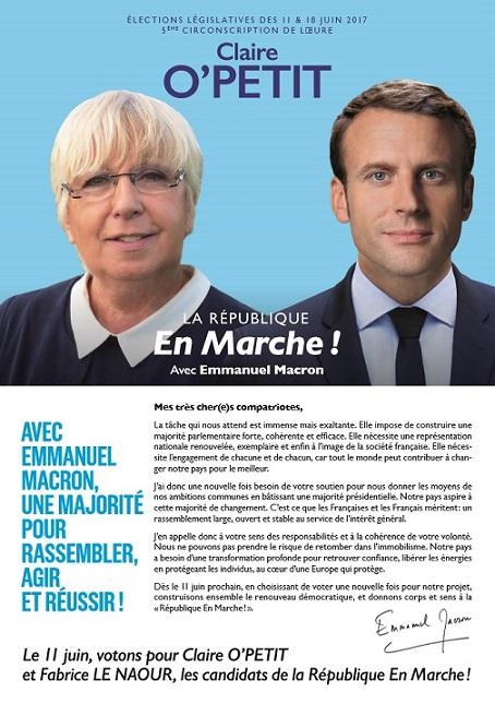 Claire O Petit - Macron