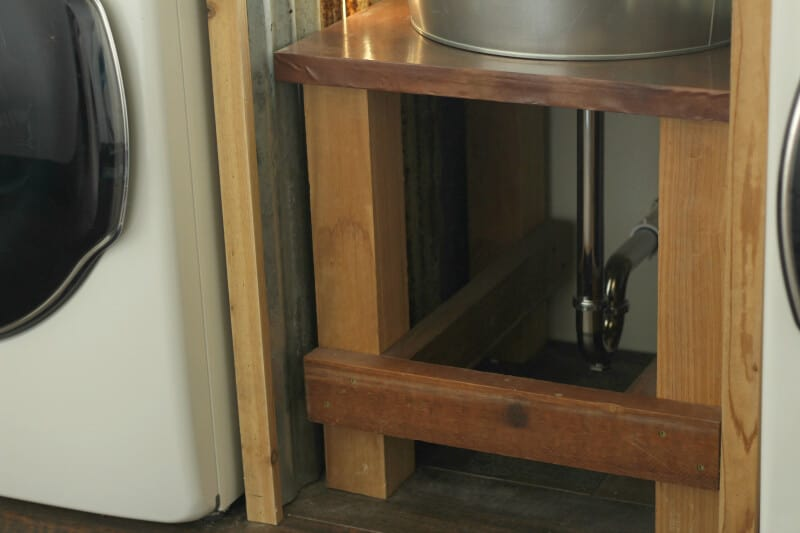 diy galvanized tub sink the prairie