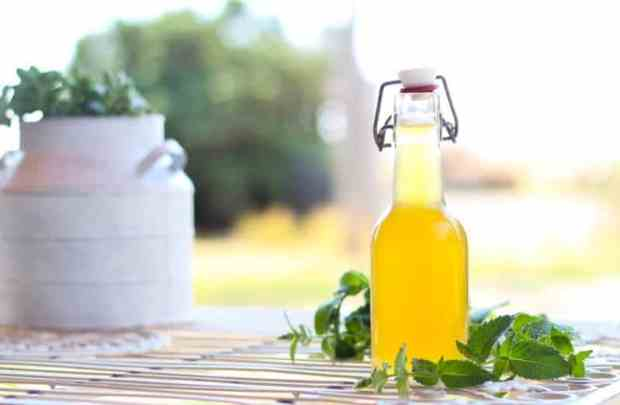 Simple Syrup Recipes Vanilla Sweet Mint Flavor Homemade Recipe