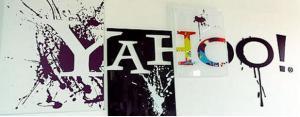 Yahoo office signage
