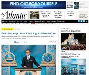 Atlantic Scientology controversy