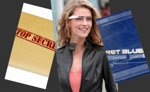 Secret Google Glass plans and design features