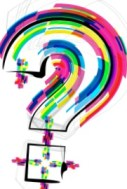 Colorful social media questions