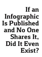 if an infographic is published and no one shares it