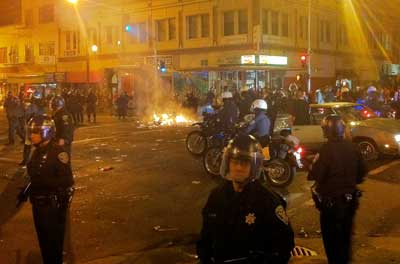 Police will not be able to quickly control Mob Violence