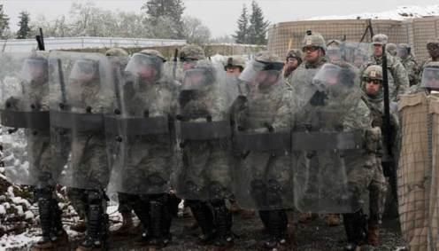 Riot Control Tactics