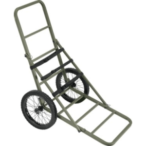 A cart like this with some modification is an excellent option for carrying heavy water with easy