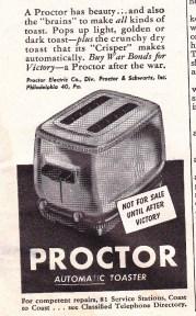 proctor toaster
