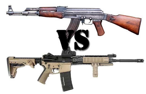The AK-47 vs AR-15: Which Rifle is Better? - The Prepper Journal
