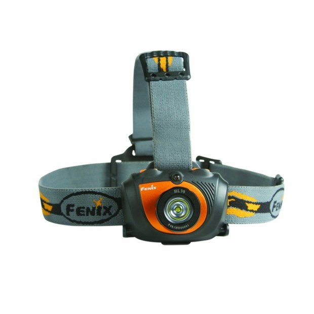 Fenix Headlamp - Perfect for hands free tasks in zero visibility.
