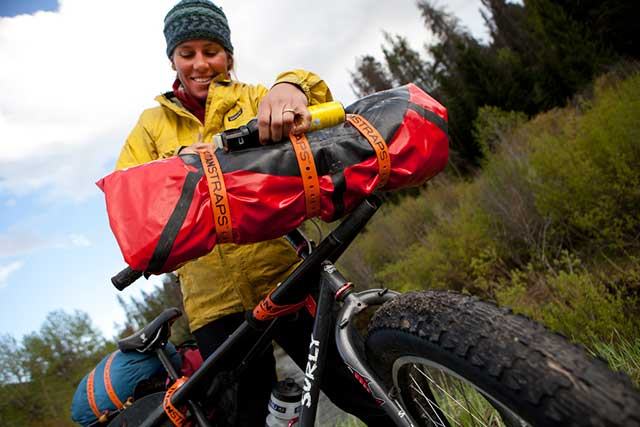 TitanStraps work for strapping down small items to your Bike or 4-Wheeler