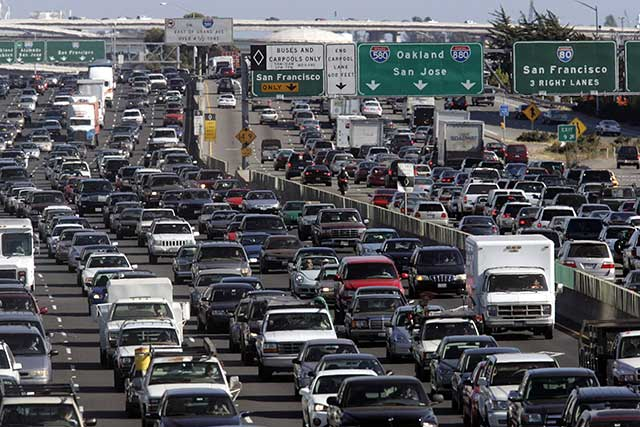 Mass evacuations are a recipe for massive traffic jams.