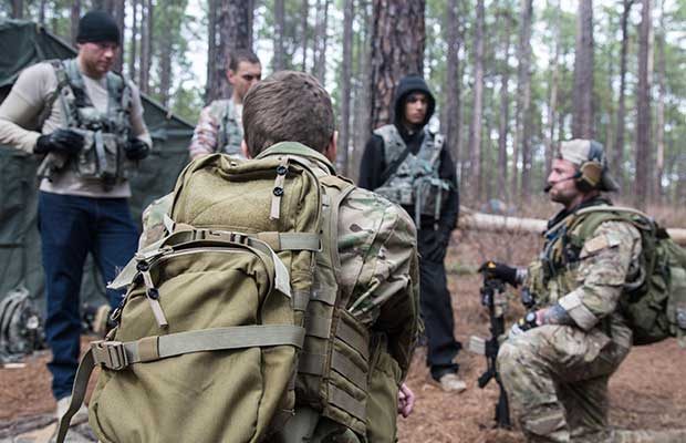 Militia groups can be a good place to get training with a larger group.