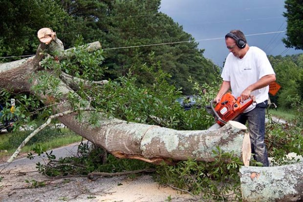 Hand tools are important, but if I can use a chainsaw, I will.