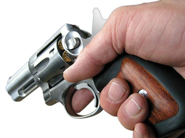 2. Pointing a gun