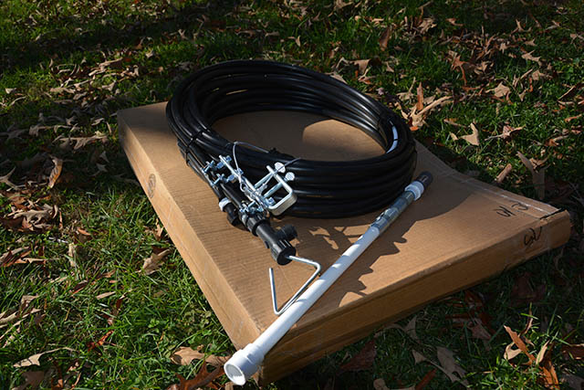 The Quick-Draw well pump comes almost ready to go right out of the box.