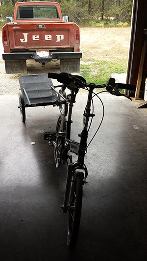 A Bug Out Bike is a great idea for carrying a lot of weight over distances.