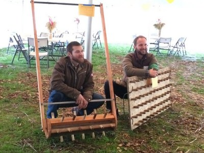 drum or rolling dibbler and dibble board - www_ncat_org Garden Hacks