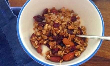 Feelin' Crunchy: Cranberry Nut Granola