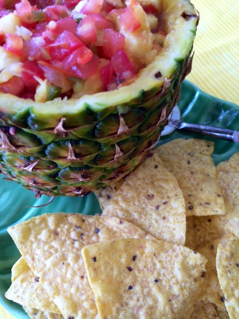 Virgin Gorda Pineapple Salsa