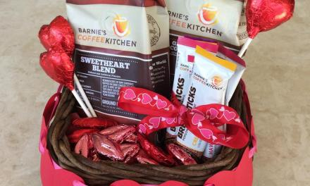 Valentines Day with Barnie's Coffee Kitchen