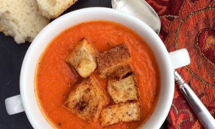 Roasted Tomato and Carrot Soup