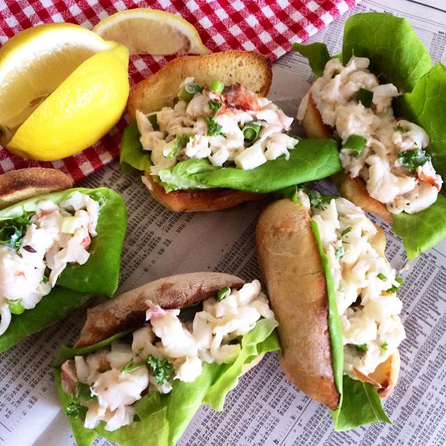 Lobster Roll Sliders
