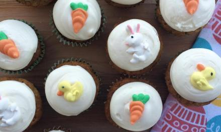 Miss Bee's Carrot Cupcakes