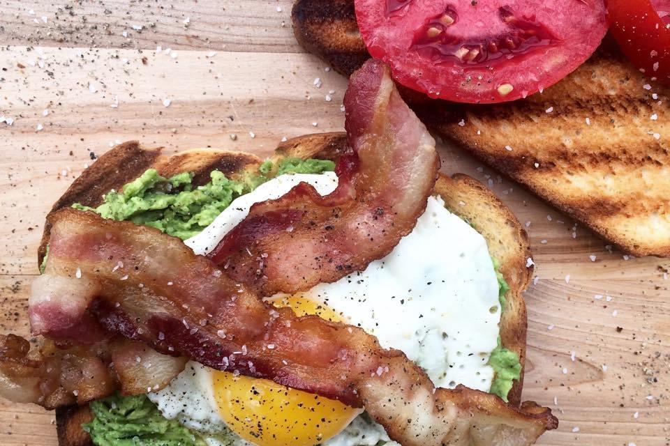 Farmers Market Egg Sandwich