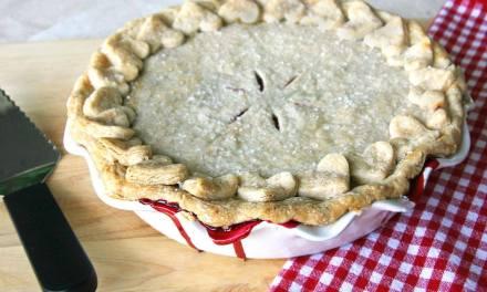 Grandma Hayes' Raspberry Pie