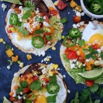 Steak and Egg Breakfast Tacos