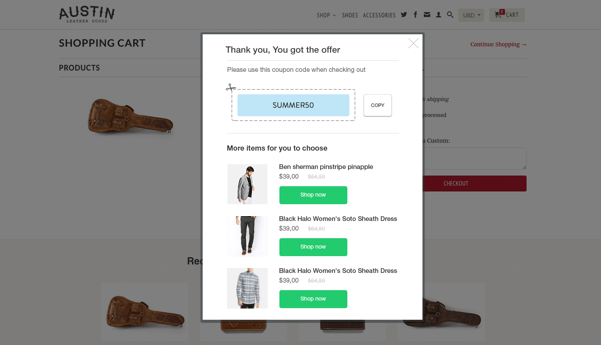 Increase sales on ecommerce store with checkout booster 1