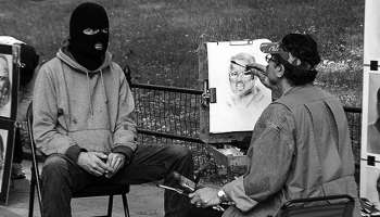 the picture of banksy