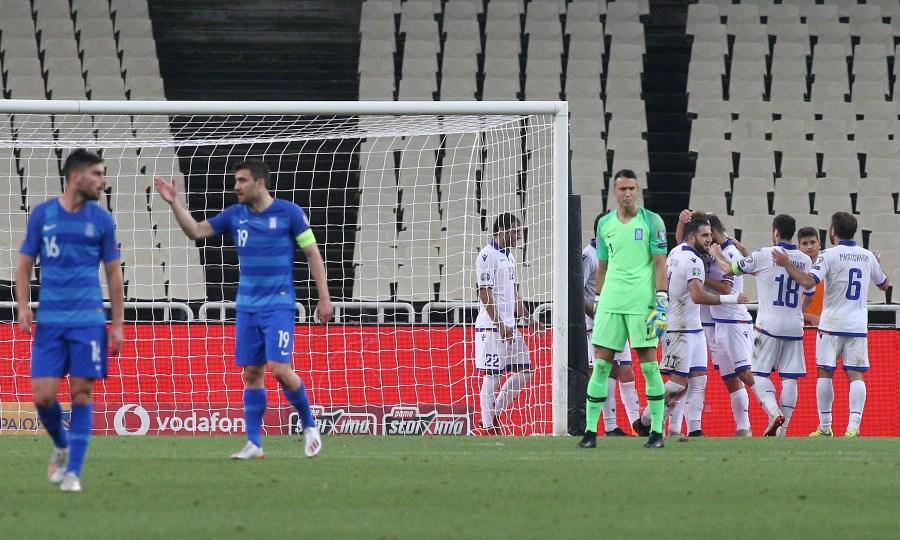 Ελλάδα-Αρμενία 2-3: Ντροπή σας!