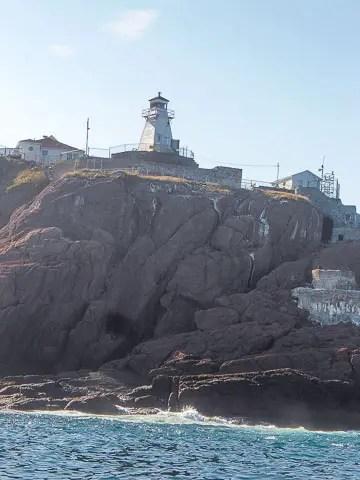 cape spears lighthouse (newfoundland tea buns)