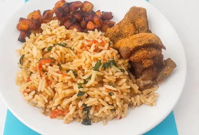 Nigerian Coconut Rice - The Pretend Chef