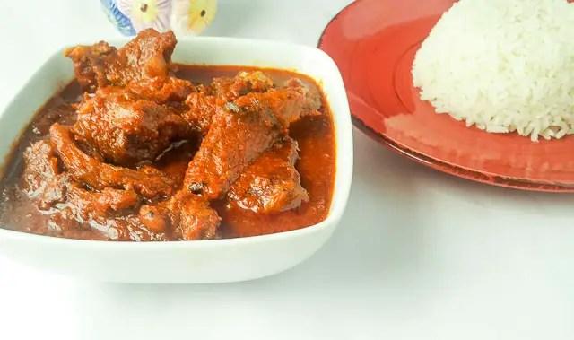 Palm oil Stew