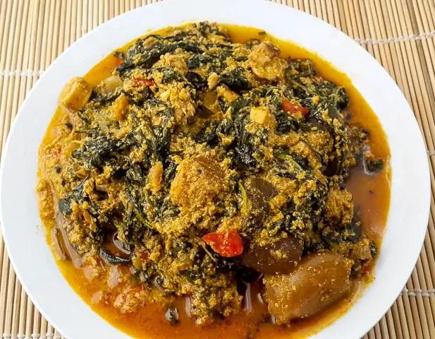 Ofe Awa, Awa soup