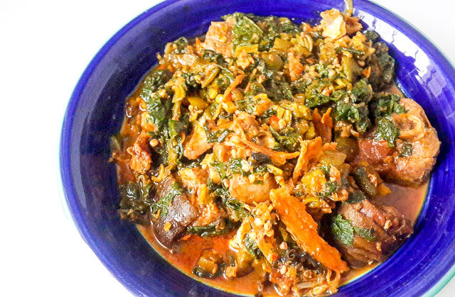simple, fresh and clean tasting ofe ugbogoro