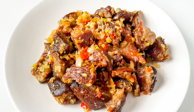 Asun spicy goat meat