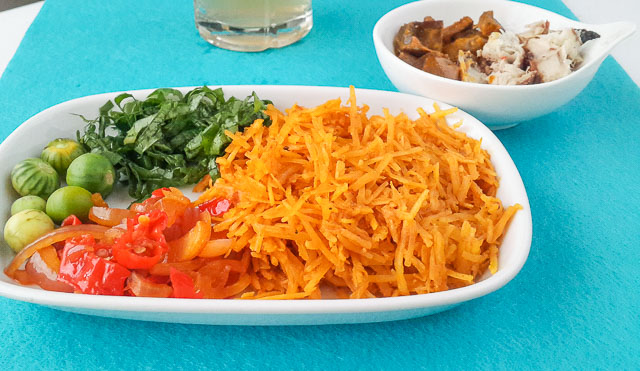 Authentic Abacha ncha, african salad