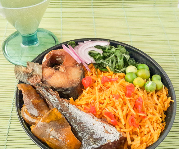 Authentic Abacha ncha, african salad