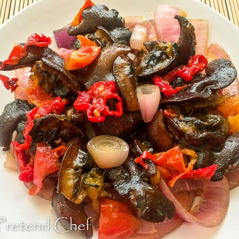 spicy nigerian peppered snail-