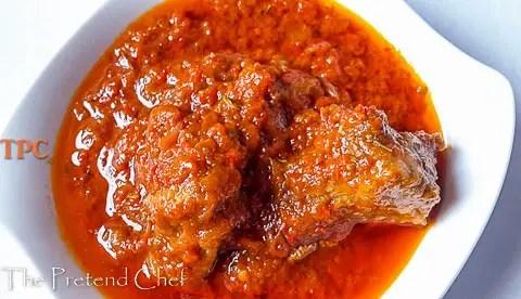 Tantalizing Nigerian tomato stew