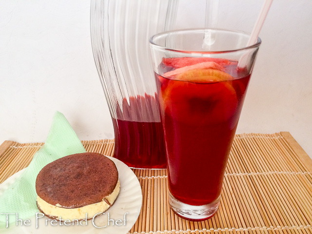 refreshing, delicious authentic Nigerian Chapman drink
