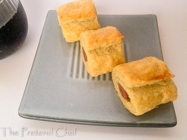 Golden melt-in-the-mouth and flavoursome Nigerian sausage roll