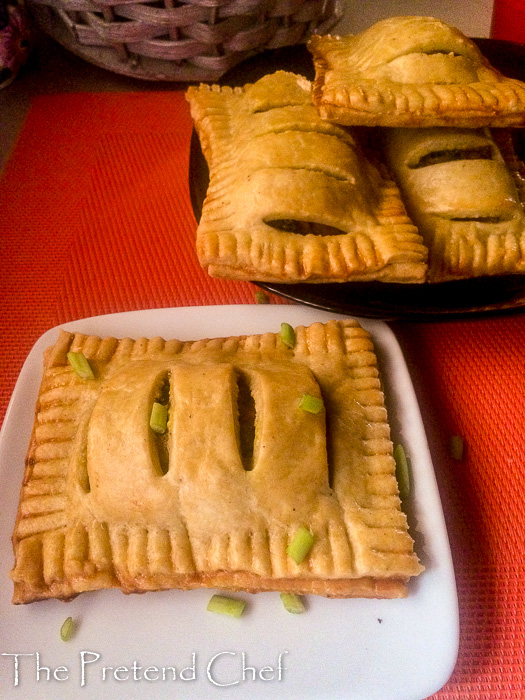 Tender, luscious and flavoursome Nigerian vegetable pie