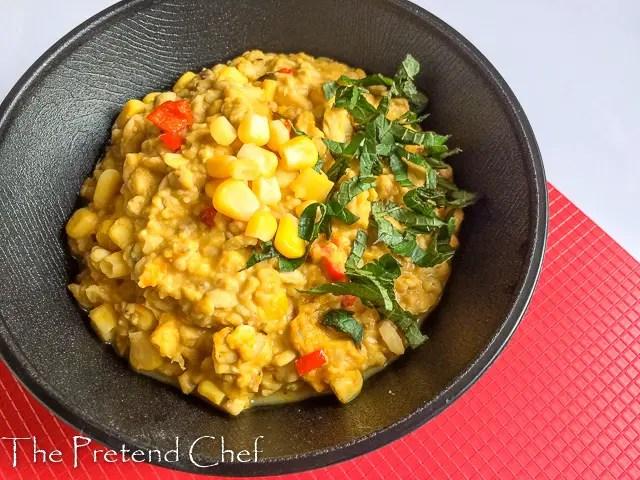 Luscious African breadfruit porridge (Ukwa porrdge)